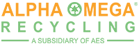 Alpha Omega Recycling Logo